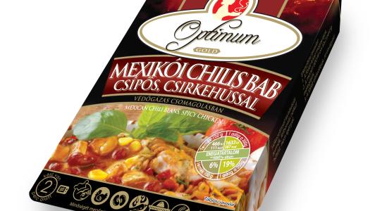 Mexikói chilis bab, csirkehússal