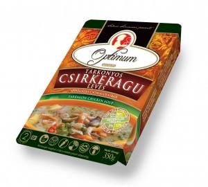 Куринный суп-рагу со специями (эстрагон )